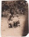 1943 Yap Maxine & her mom (Grandma Maggie)