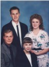 The siblings in 1991 - Gary Jr., Stephanie, Kristen, & Jeff