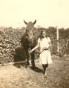 Young Eleanor with a horse
