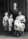Wilbert with family age5