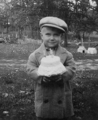 Third birthday celebration in 1931