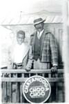 Ernie Jr. & Ernie Sr. on a train through time