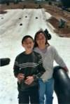 Carol & Curtis in snow